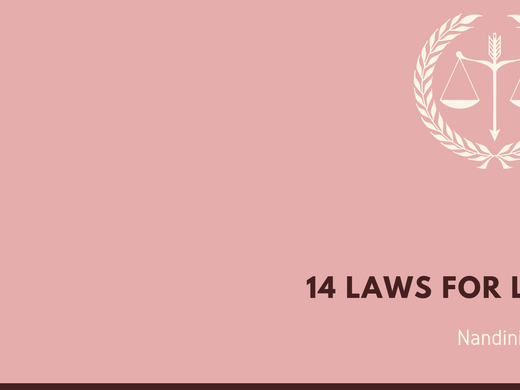 14 LAWS FOR LIFE