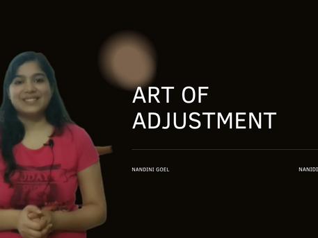 ART OF ADJUSTMENT