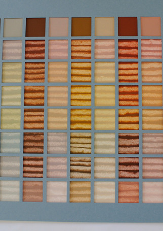 tableau de melanges de couleurs