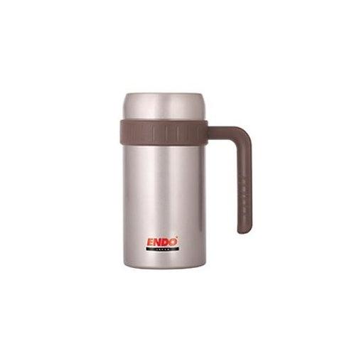 Endo 500ml Desk Mug + Tea Strainer (Champagne Gold)  - CX-3002