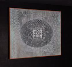 """EL ACERTIJO"" NeoCrotalic Mexican Art Original Artwork 12"