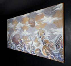"""ENCUENTRO"" (Meeting) NeoCrotalic Mexican Artwork"