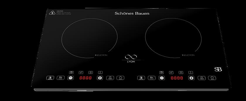 Lyon induction cooktop by Schönes Bauen. Portable  110/120V