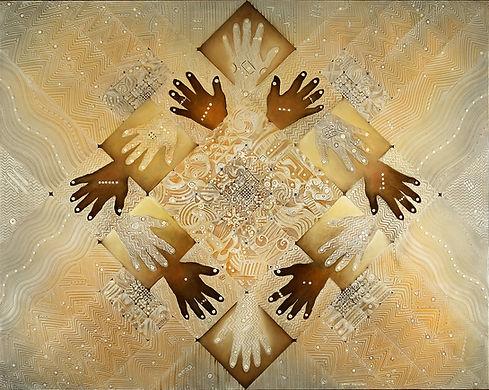 """FRATERNIDAD"" Neocortalic artwork by Javier Lopez Pastrana"