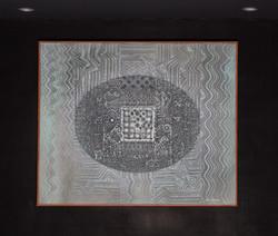 """EL ACERTIJO"" NeoCrotalic Mexican Art Original Artwork 10"
