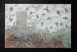 """MIGRACION"" (Migration) NeoCrotalic Original Artwork 9"