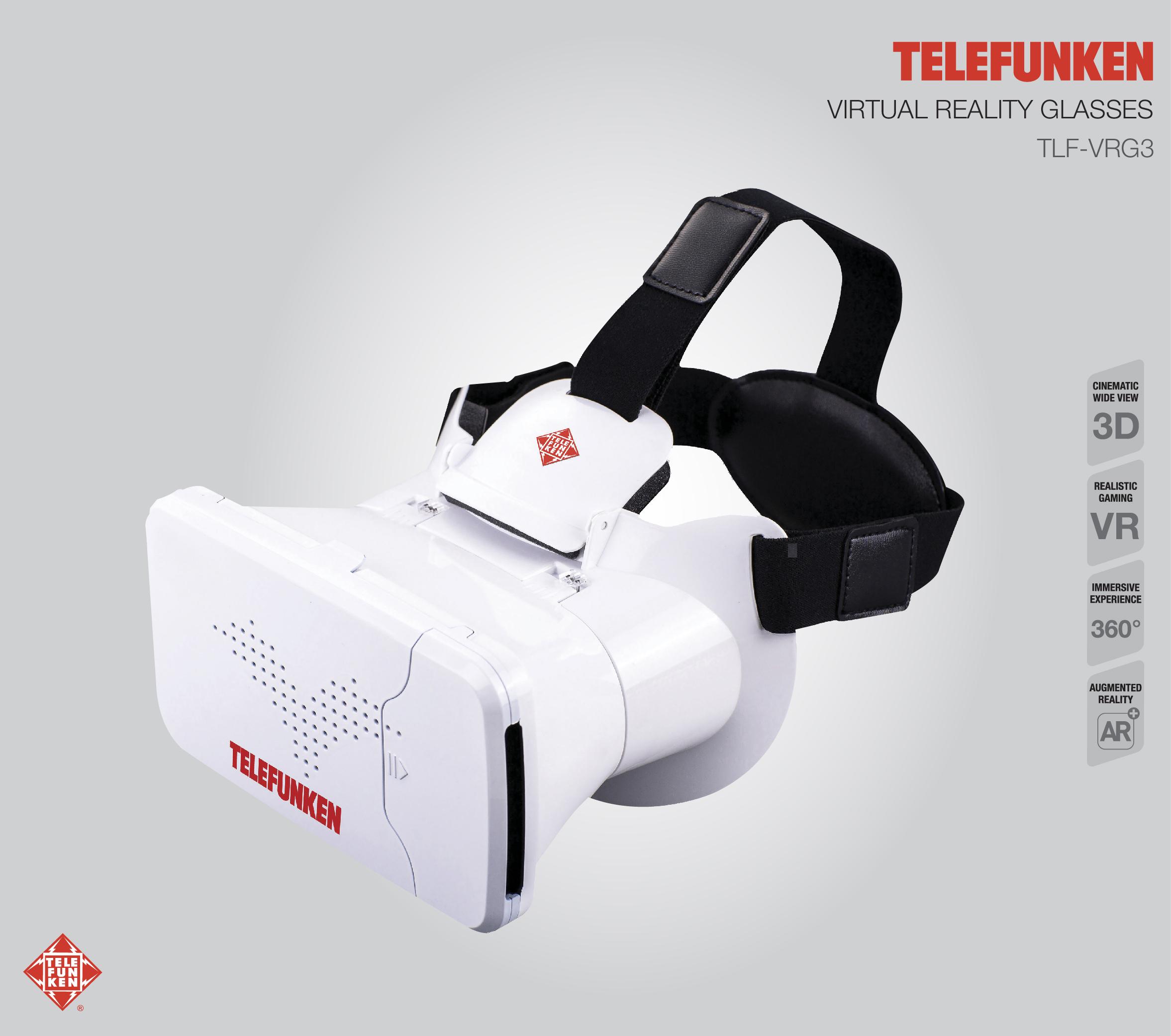 Lentes VR Telefunken TLF-VRG3