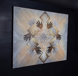 FRATERNIDAD NeoCrotalic Original Artwork 2