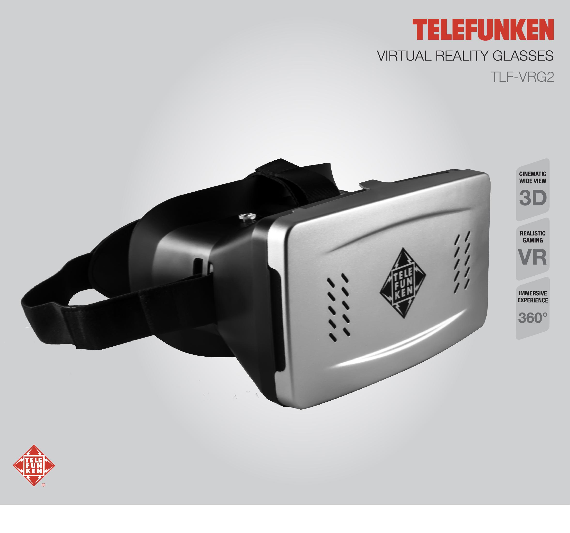 Lentes VR Telefunken TLF-VRG2