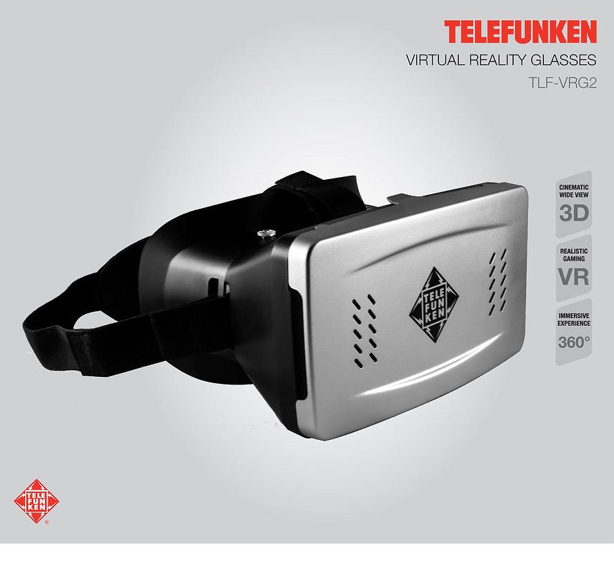 Lentes de Realidad Virtual VR TELEFUNKEN TLF-VRG2