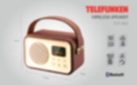 Bocina Bluetooth Telefunken TLF-A93