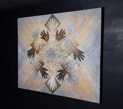FRATERNIDAD NeoCrotalic Original Artwork 3