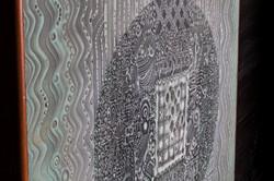 """EL ACERTIJO"" NeoCrotalic Mexican Art Original Artwork 1"
