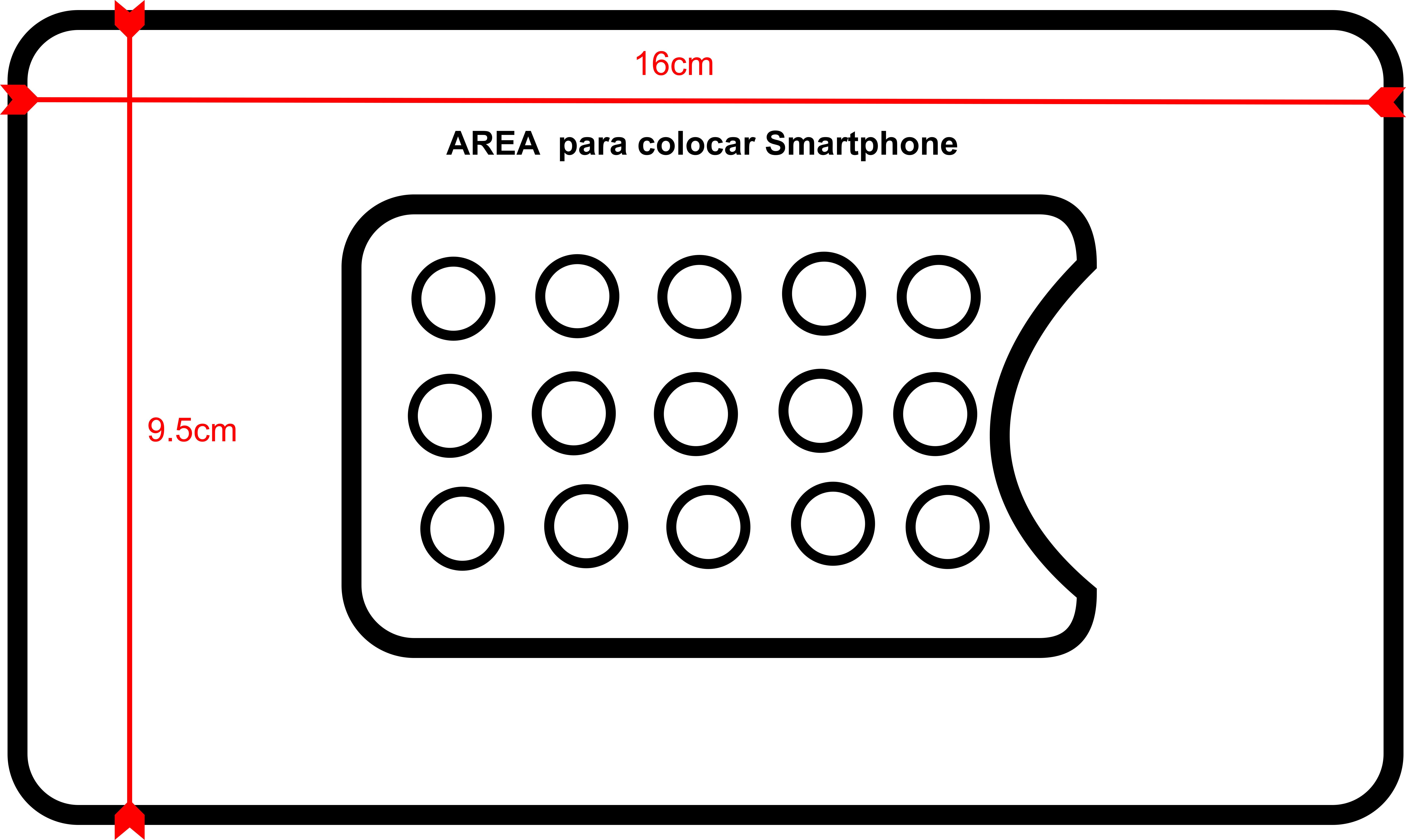Compartimiento para colocacion de smartphone 2