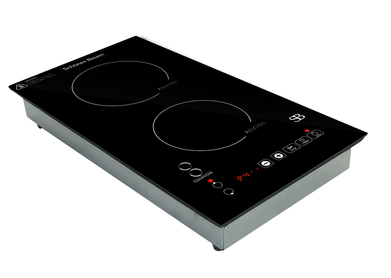 Champagne induction cooktop by Schönes Bauen. Inset  110/120V
