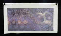 """TRILOGIA"" (Trilogy) NeoCrotalic Serialized Giclée by Javier Lopez Pastrana"