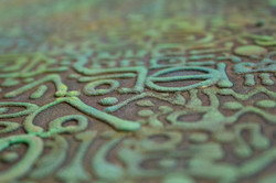 CRUZANDO LA  FRONTERA  NeoCrotalic Original Artwork