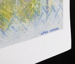 """COMUNICACION"" NeoCrotalic Serialized Giclée by Javier Lopez Pastrana"