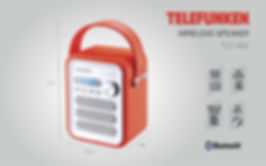 Bocina Bluetooth Telefunken TLF-A92