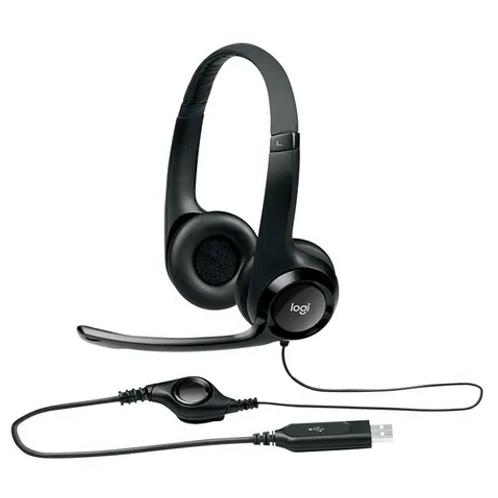 Auricular Vincha Logitech H390 Microfono Usb