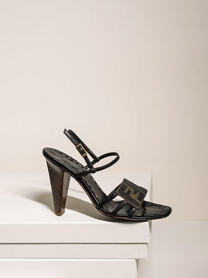 Signature FENDI FF Sandals
