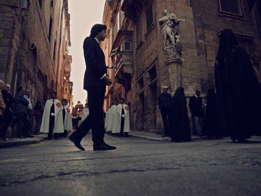 Street Processions during Holy Week in Valletta