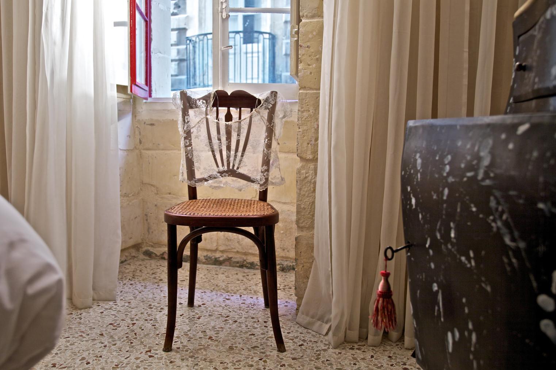 Valletta Suites -Maison La Vallette, bed