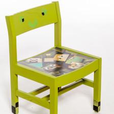 Creeper Chair-Minecraft by Lily-Ann John
