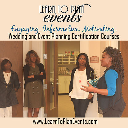 Learn To Plan Events,  Class Image