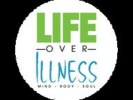 LOGO - Life Over Illness, round - compre