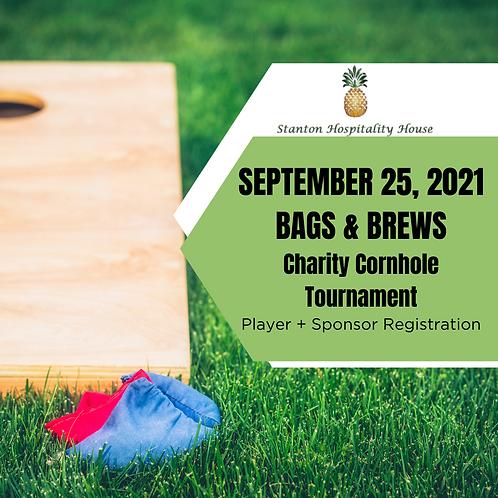 BAGS +BREWS: Charity Cornhole Tournament