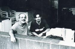 Com o professor Sergio Nogueira