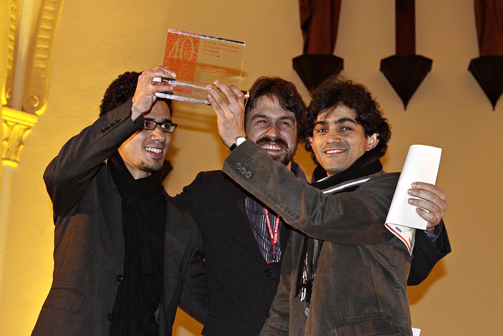 Com Rodolfo Valente e Sergio Rodrigo