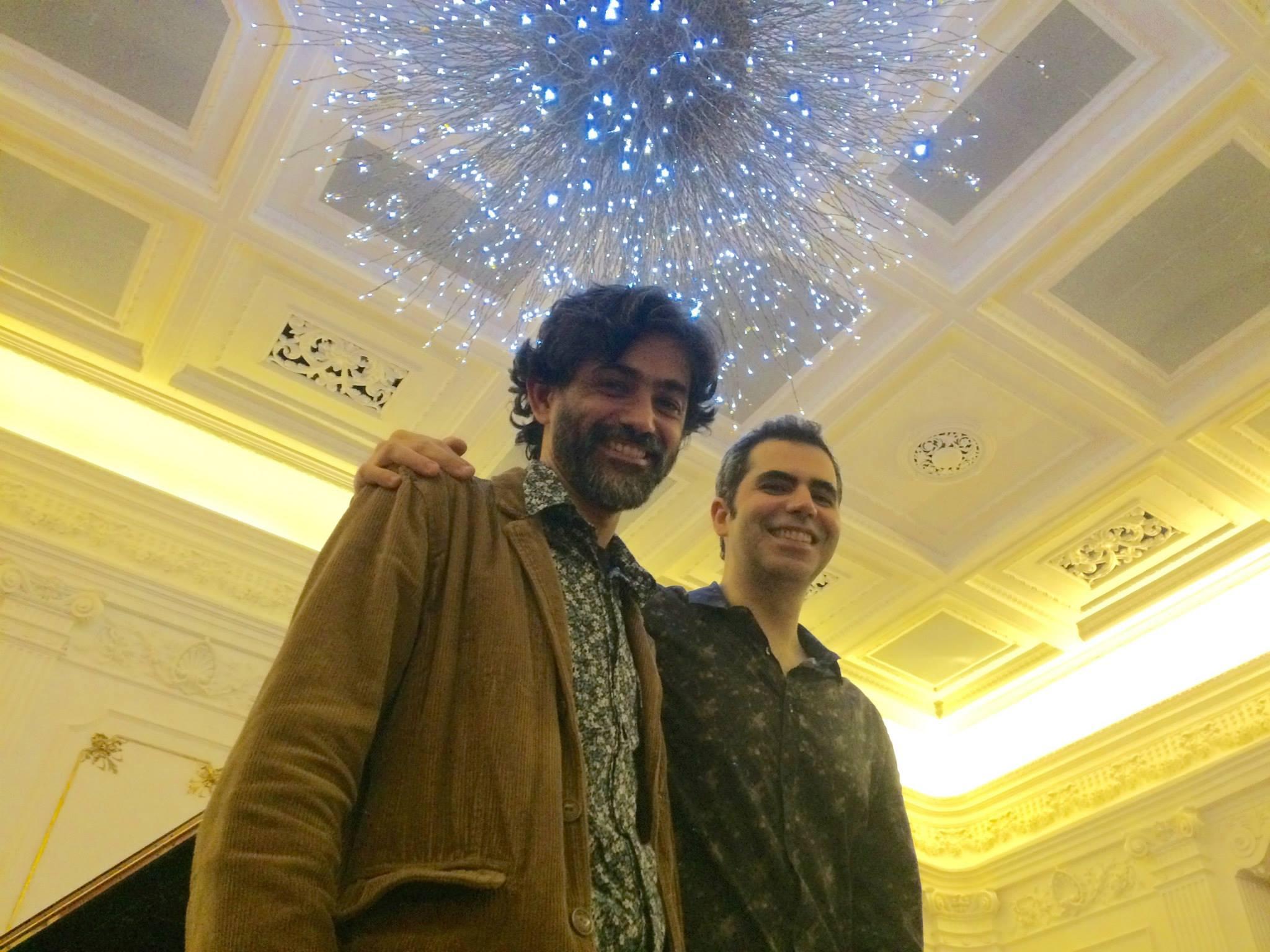Com o pianista Horácio Gouveia