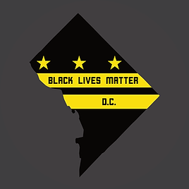 Black Lives Matter DC chapter logo