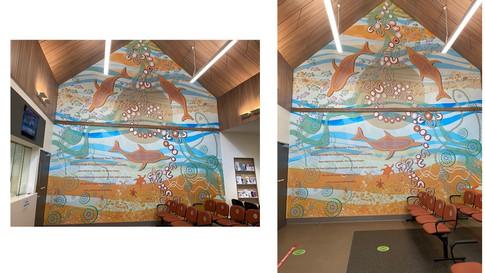 Tomaree Community Hospital Mural