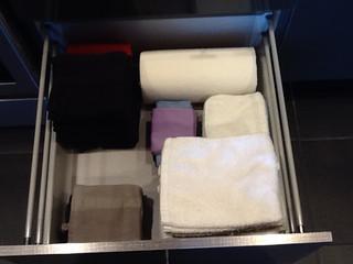 towel drawer