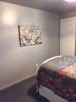 AFTER photo of guest room