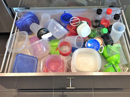 Food container storage- Tips to keep plastic containers organized