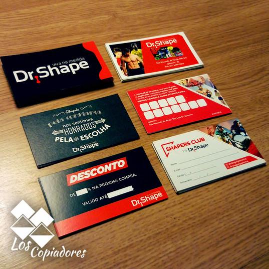 Impressão Gráfica Cartão fidelidade em papel Duo Design