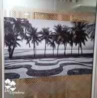 Adesivo Aplicado em Vidro Copacabana Ant