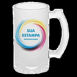 Caneca de CHOPP Jateada personalizada no Rio de Janeiro