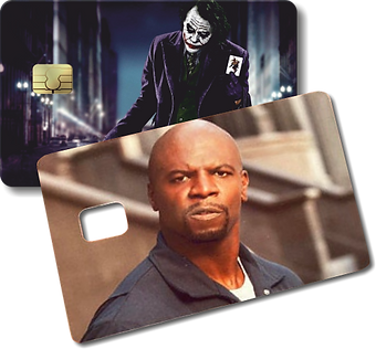 Adesivo Cartão de Crédito Impressão de A