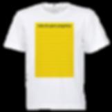 Camisa Personalizada Lista de Quem Pergu