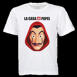Camisa Personalizada La Casa de Papel.pn