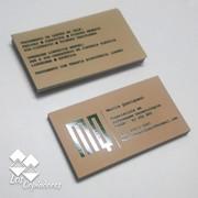 Impressão de Cartões de visita Laminação fosca e Verniz Localizado 300 gramas