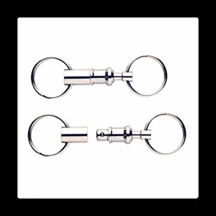 Schlüsselanhänger  mit  Kupplung