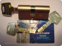 Einbaudoppeltürzylinder MUL-T-LOCK