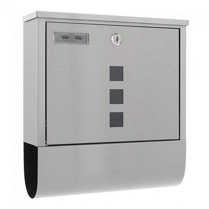 HomeDesign Briefkasten HDM-180-INOX