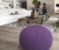 decoracion, interiorismo, puff, pouf, taburete, tejido XXL, crochet, tejido extremo, decoracion, arquitectura